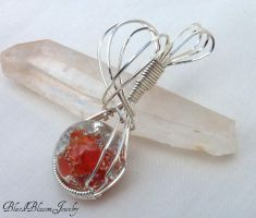 Shattered Fire by BlackBlossomJewelry