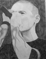 Chester Bennington Old 7 by skepticmeek