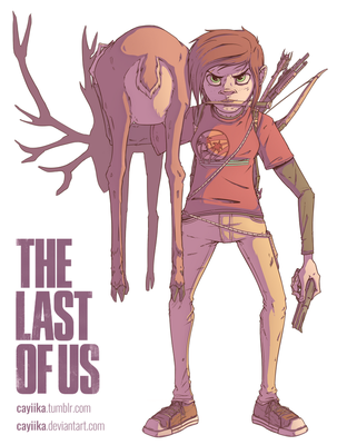 The Last of Us: Ellie by cayiika