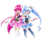 Happiness Charge Precure! Official Render by XxSweetLemonadexX
