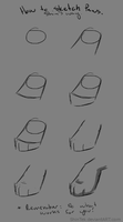 How to Sketch Paws by ShinTek