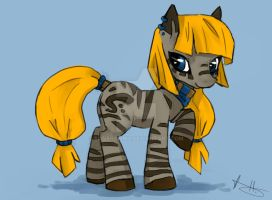 MLP zebra AUCTION (CLOSED) by Silverammy