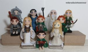 A Year of Dolls: The Lord of the Rings by crafty-maika