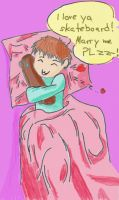 Roby's true love :D.... by Mirey-chan