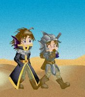 walking by the desert by hinako-chan