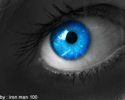 Blue eye by iron-man-100