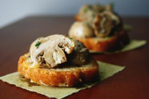 Mushrooms on toast II by sasQuat-ch