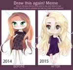 The Difference of One Year by EmmyWithLove