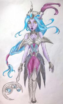 ~ Midnight Soraka ~ by LiseWasTaken