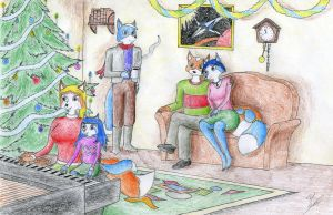 McClouds on Christmas by Sinaherib