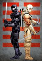 SnakeEyes Storm Shadow by RobertAtkins