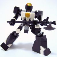 Mighty Morphin' LEGO Rangers: The Black Ranger by AndiusMaximus