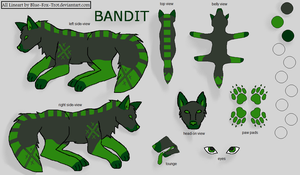 Bandit Character Refrence by emgeal