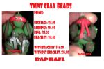 New style of Raphael Clay Bead by ScoopGirl