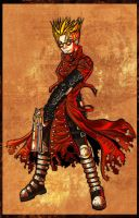 Trigun Vash by dreamwatcher7