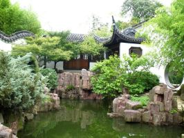 The Chinese Scholar's Garden by Eldr-Fire