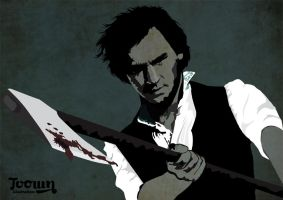 Abraham Lincoln Vampire Hunter by toown