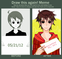 MEME: Before and After by txunnpae
