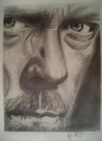 hugh laurie sketch by cliford417
