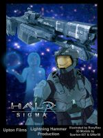 Halo: Sigma Poster by RoxyRoo