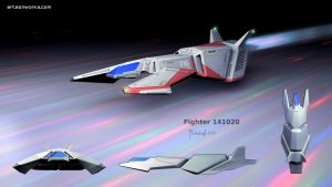 scifi fighter concept 141020 by dm3da