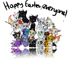 Happy Easter,everyone! by Susankane