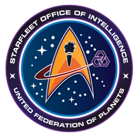 Starfleet Patch - Starfleet Intelligence by thomasthecat