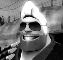 Heavy Shades Guy by SpaceFishInSpace