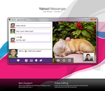 Yahoo Chat - Concept UI by ilifino
