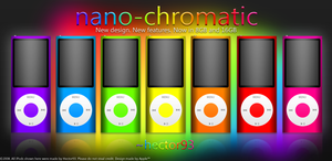 iPod Nano Ad by Hector93