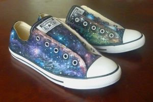 Galaxy Shoes by fractalbeauty25