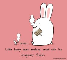 Bunny's Imaginary Friend by sebreg