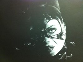 Cat woman by Blood-Bell