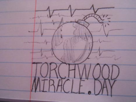 Torchwood: Miracle Day doodle by RohirricTimeLord
