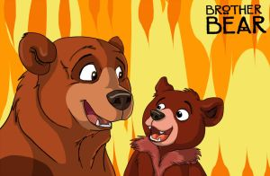 Brother Bear Fanart by RatteMacchiato