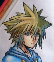 Sora KH2 Fan Art by Bushido-Arts