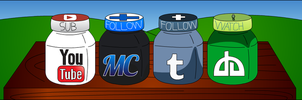 My Social Nutella Networks by MadnessTroll