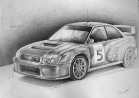 Subaru Impreza by archigen