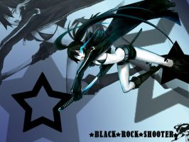 Black Rock Shooter - Wallpaper by MewCocoa