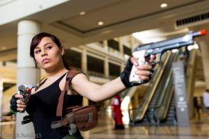 Two Hands- Revy Black Lagoon by LadyofSparda