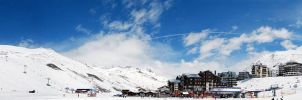 Tignes 2010 panorama03 by Siccie