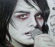 Gerard Way by Madam-Pierrot