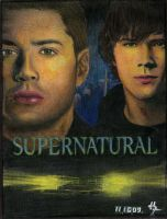 Supernatural_brothers by KittenNamedElle