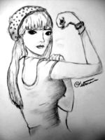 Rosie the Riveter 2011 by CobainLives