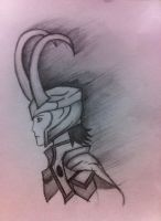 loki's shadow by Zombiie-Venom