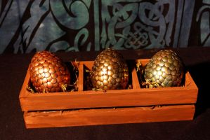 Dragon Eggs by El-Sharra
