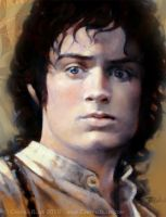 Frodo in Lothlorien by Cynthia-Blair