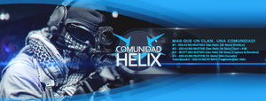 Cover Comunidad Helix by rauchdesigns