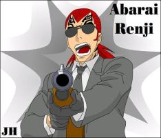 Renji With Gun Vector by Xpand-Your-Mind