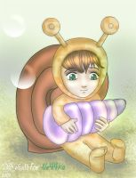 snail-chan by Wohald